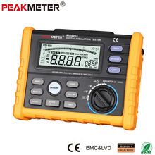 Factory Direct Analog & Digital 1000V MS5203 Insulation Tester to 10G Ohm with Multimeter