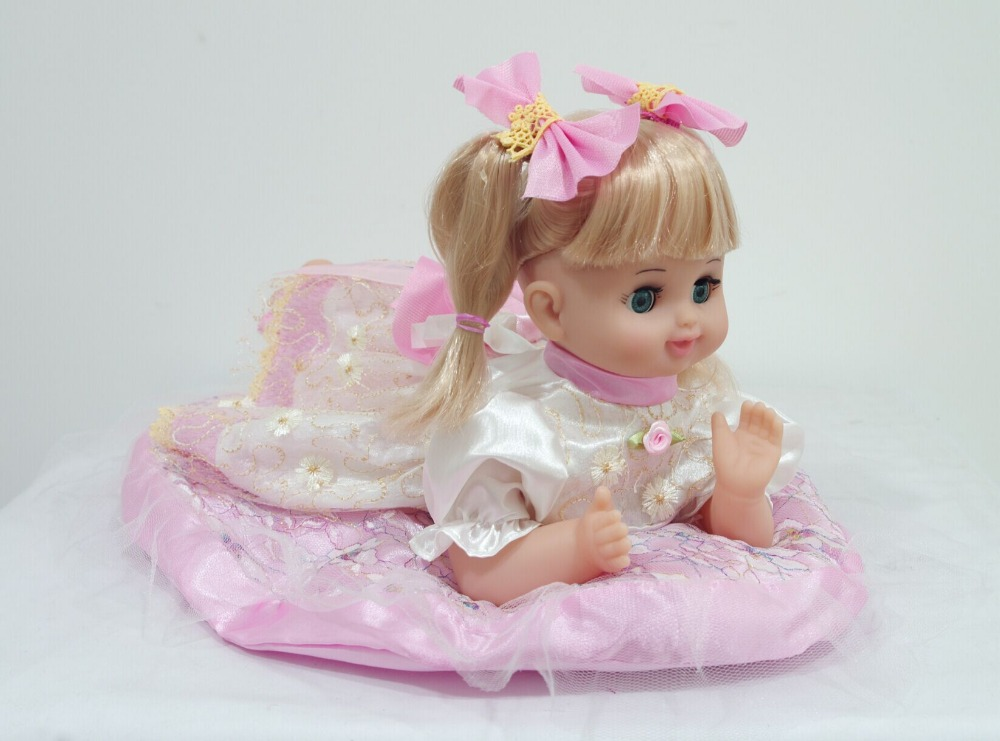 "16""Baby girls toys children <strong>doll</strong> best for kids(Voice control, swing body, sing songs)"