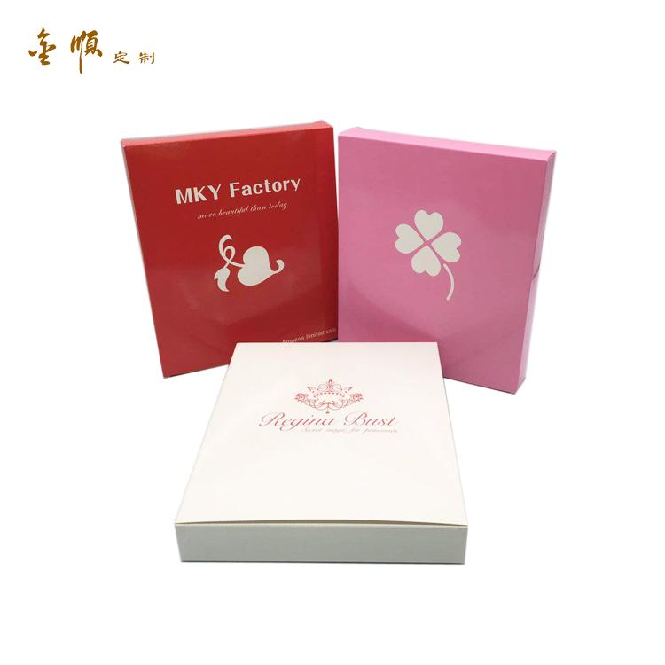 Kustom Kemasan Hadiah Kertas Pakaian Dalam Wanita Kemasan Kotak untuk Wanita Pakaian Kemeja Kotak Kemasan