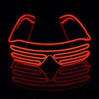 Most Popular LED flashing Party shutter glasses,Party city led shutter glasses,led shutter glasses display