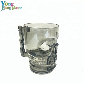 Hot Sale Plastic Skull Cup Bar Personalized Plastic Cup
