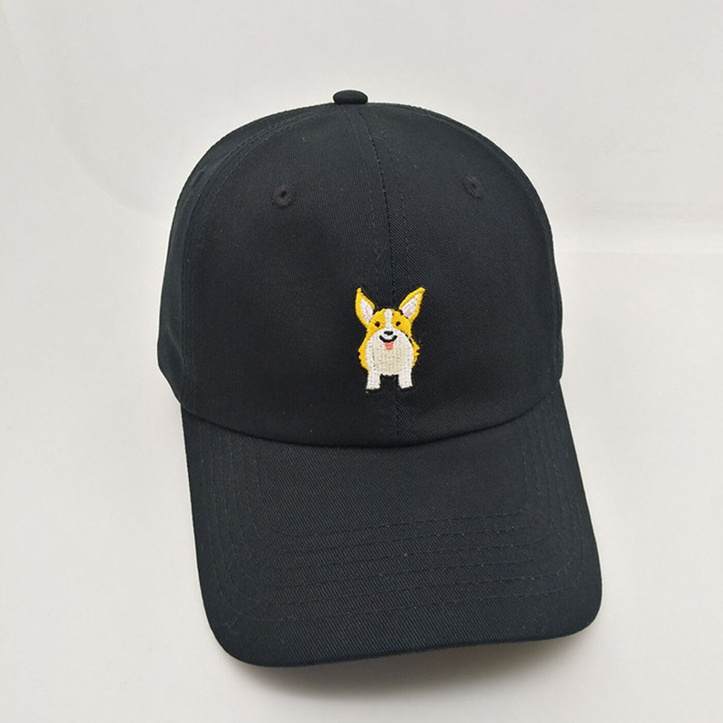 Hat Manufacturers 100 Twill Cotton Dog Embroidery Baseball Cap