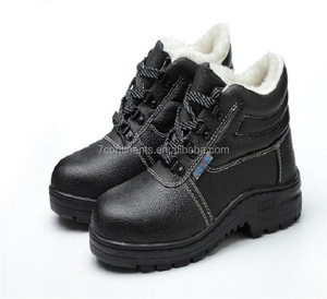 New Arrival Men Safety Shoes PU Injection Safety Boot Work Boots with Steel Toe