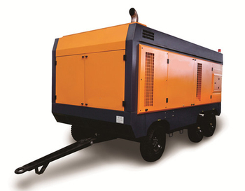 New High Pressure Series Mobile Screw Air Compressor For Industry