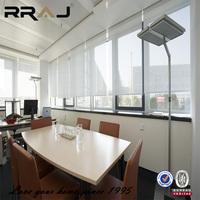 Sunscreen fabrics light filtering anti-fire Roller shades for windows