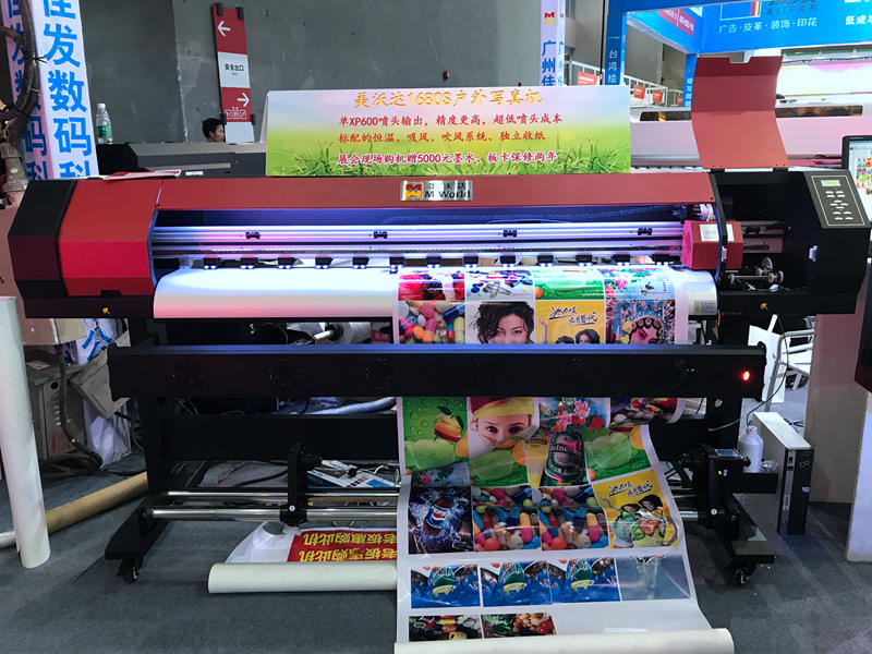 High resolution custom sticker printing machine single head xp600 dx5 large format outdoor printing machine
