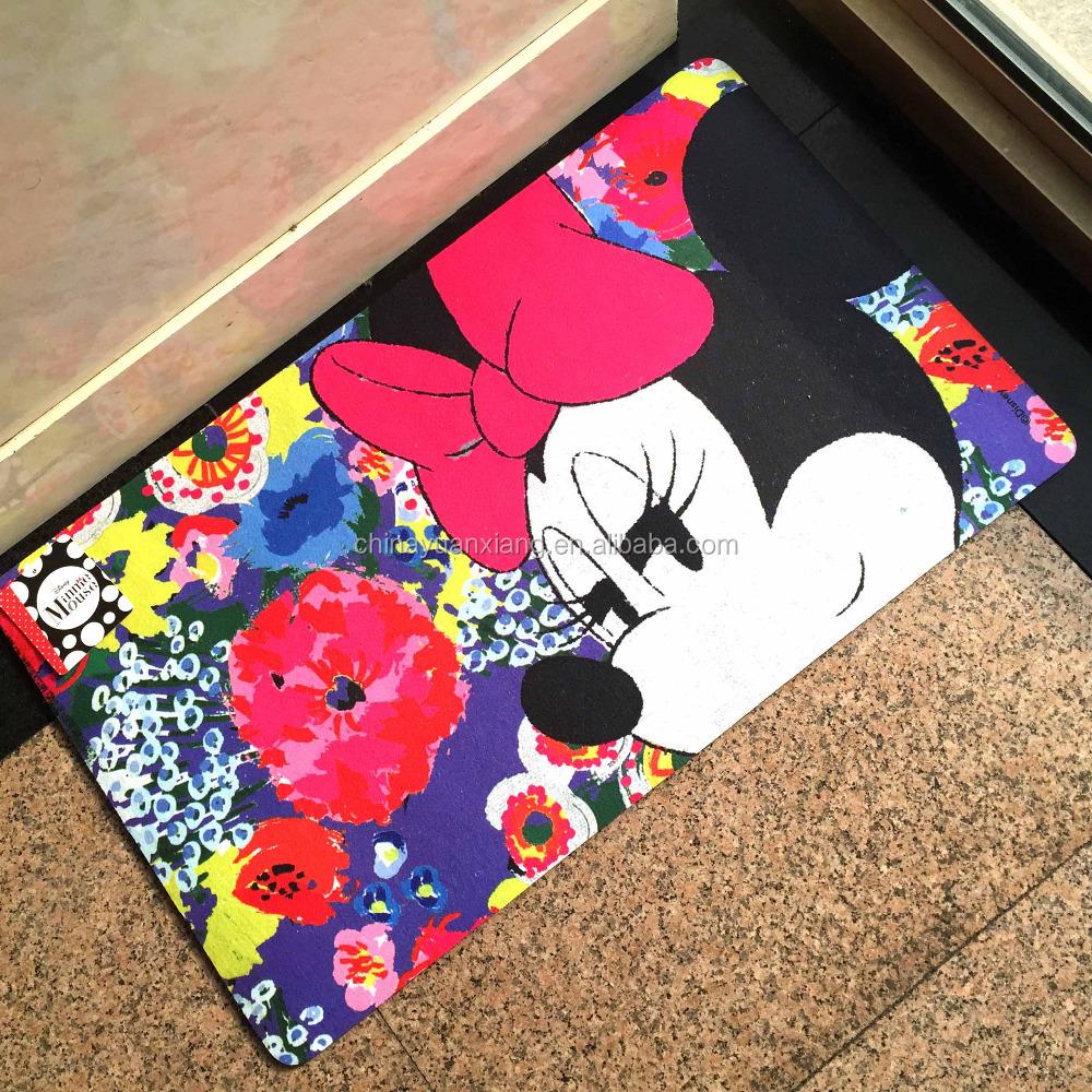 Disney mickey dise o del rat n felpudo alfombra alfombras - Alfombras mickey mouse ...