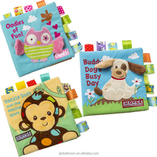 Kids Educational Baby Cloth Book Hot Selling Baby Fabric Book for Kids