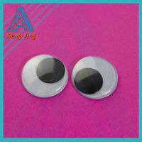 7mm Wiggly Googly Eyes with Self-adhesive Toy Accessories