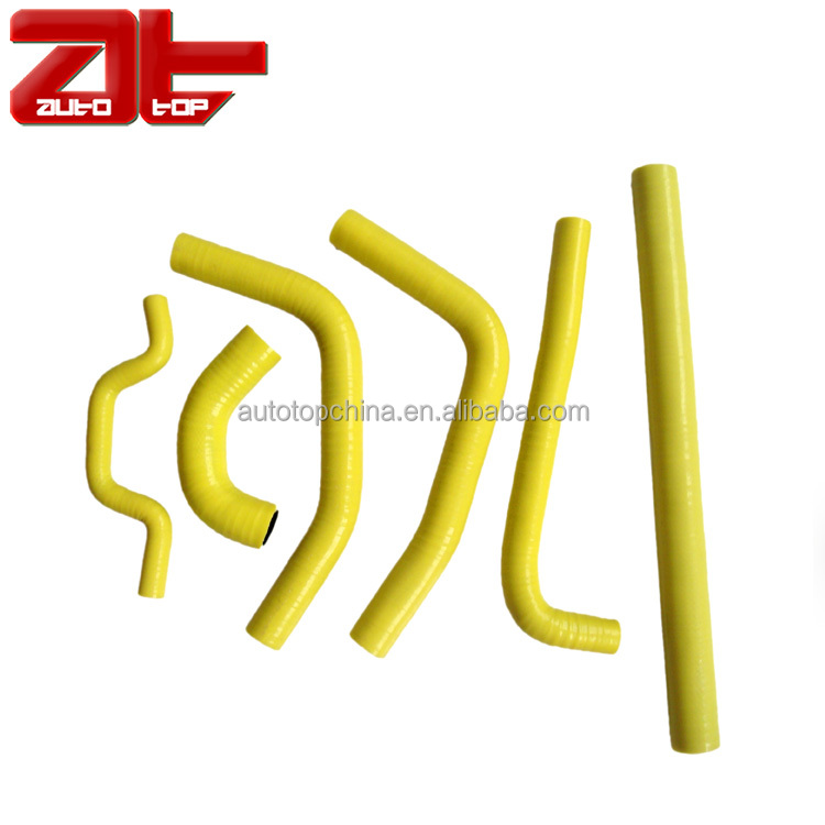 Replacement Silicone ATV Radiator Hose Kit, Hose Kit For GRIZZLY 660 4X4 2PCS 2005