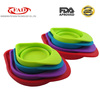 Hot selling products 4-pieces collapsible silicone measuring cups set