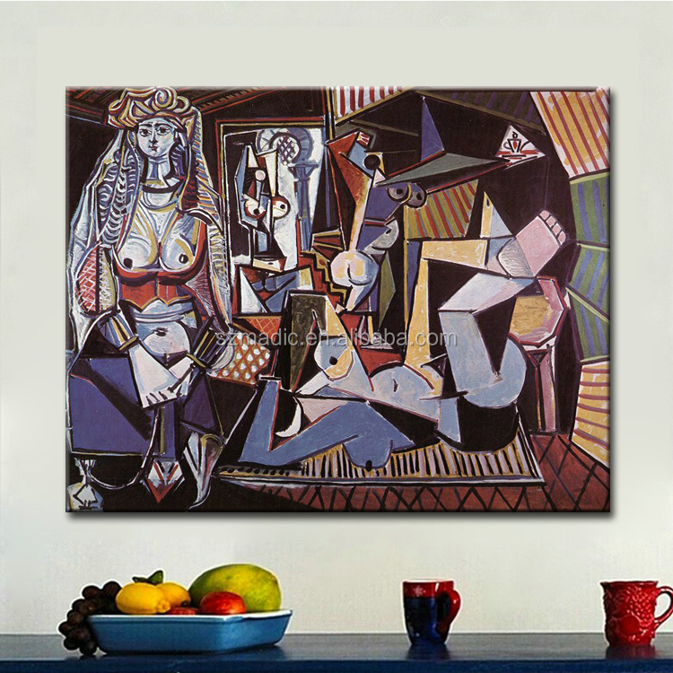 Paintings Art on Canvas Famous Canvas Prints Pablo Picasso Abstract Painting for Sale