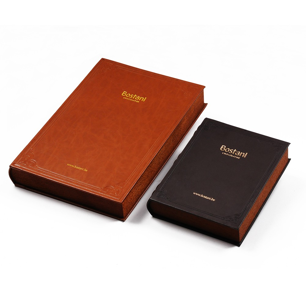 food safe beech wood chocolate book box in solid wood
