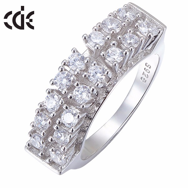 s925 Ring Pearl Ring Designs for Women 925 Silver China CZ Rings