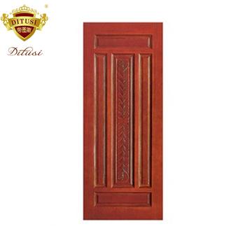 Superbe Usine Prix Moderne Porte De Chambre à Coucher En Bois Massif Design Rouge  Simple Porte En