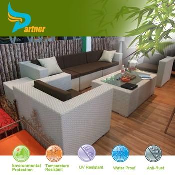 Space Saving Furniture Outdoor Rattan Sofa Za Kisasa