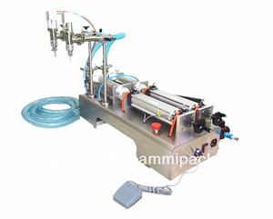 Hihgt quality pneumatic filling machine for mineral water, beverage, chemistry industry