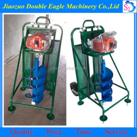 New type electric earth auger/trench excavator/ground drilling machine with factory price