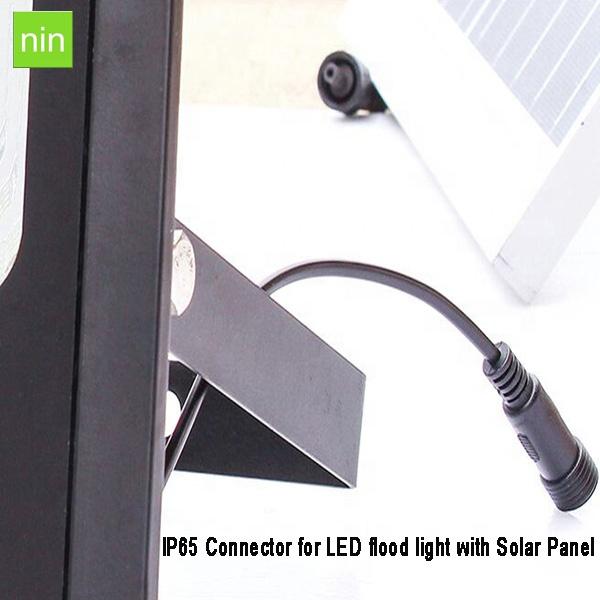 60 w rua conduziu a lâmpada para iluminação do jardim Energia Solar PIR conduziu a lâmpada de inundação