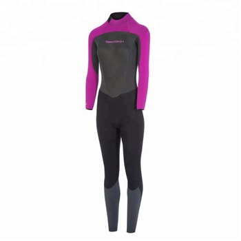 Ladies back zip full body wetsuit diving wet suits