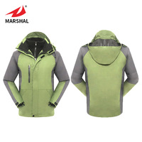 Profession Custom Design High Quality Latest Fashion Yellow Men's Outdoor Winter Sports Warm Jacket Tracksuit