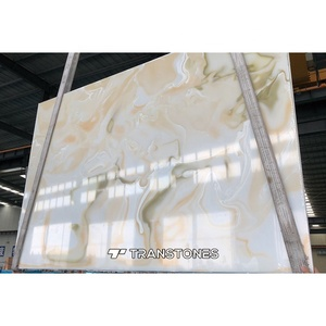 Cheap Price Artificial Alabaster Stone Slab for Bathroom Wall Panel & Interior Wall Panel Decors