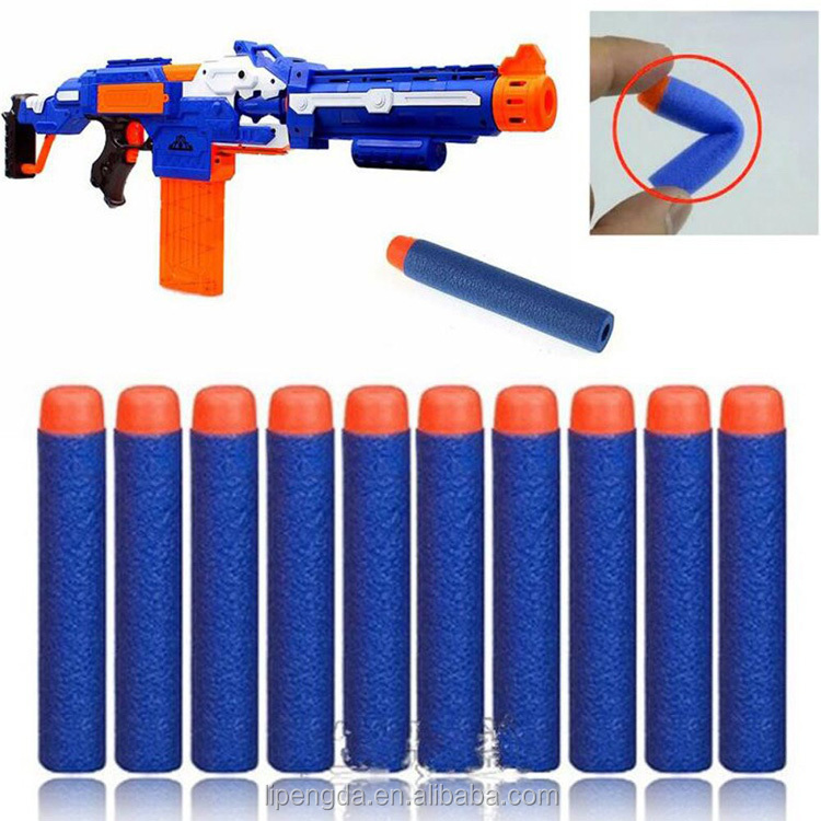 2017 EVA Elite Bullet 7.2cm Applicable to the major brands of soft play toy guns soft bullet guns toy accessories wholesale
