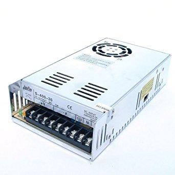AmpFlow S-400-36 400W, 11A, 36V DC Power Supply