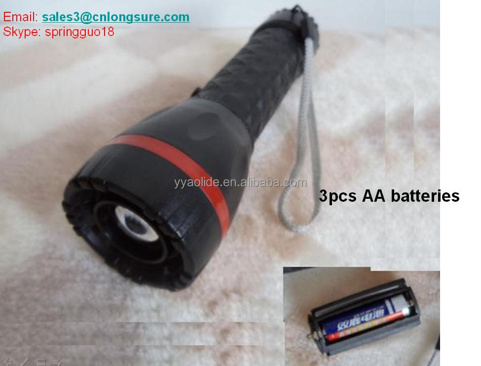 1w Led Torch Plastic Zoom Adjustable Torch 3 Aa Batteries ...