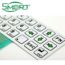 Smart bes Membrane Keyboards Polydome Silver Contact Points Tactile Membrane Switch