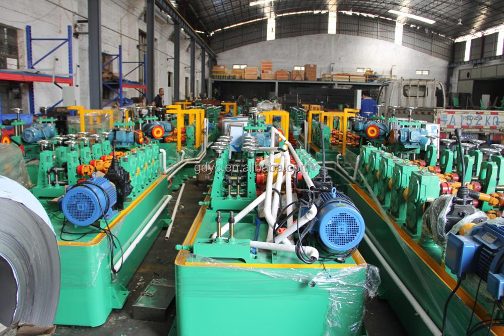 Hot sale high quality Industrial tube mill Stainless steel pipe mill line