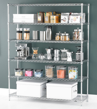 Superbe Adjustable 6 Tiers Heavy Duty Kitchenwhare Pantry Shelving,Nsf Approval    Buy Kitchenware Pantry Shelvin,Pantry Shelving,Pantry Shelving Product On  ...