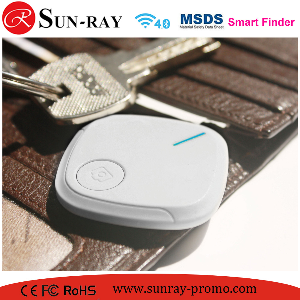 smart tracker wallet key ring anti-lost phone locator remote control selfie shutter phone key item finder