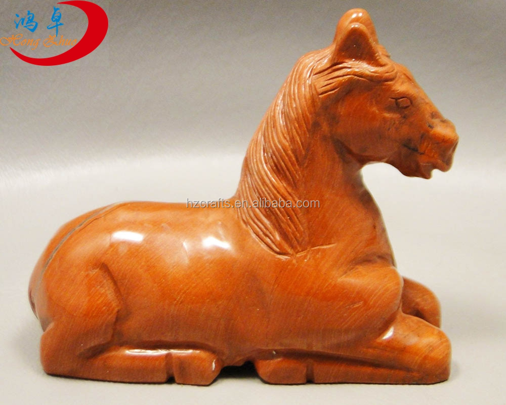 Wholesale Animals Carving Figurines Carved Gemstone horse Wholesale Animals Carving Figurines Carved Gemstone horse