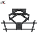 Latest Cantilever Swivel 180 Degree LCD Long Arm TV Wall Mount With Dual Arms
