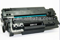 china supplier Q6511X Compatible for HP LaserJet 2410 series printer compatible premium laser Toner Cartridge 6511X