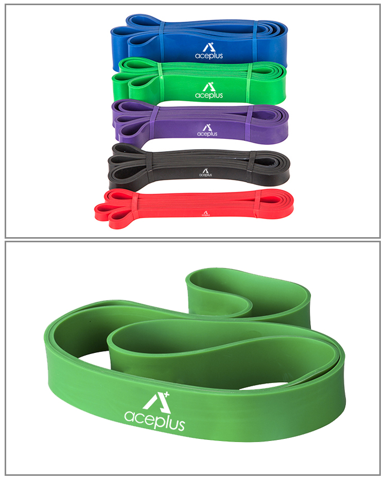 Fitness Motion Elasticity  100% Natural Latex Rubber Resistance Band