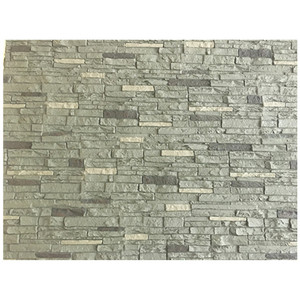 Exterior wall pu stone cladding panel