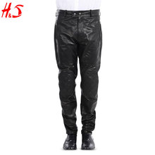 2018 New Autumn Wholesale Dongguan Clothing Fashion Man Leather Pants