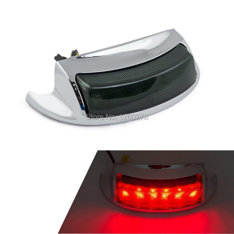 Led Rear Fender Tip Light For Harley Touring Electra Glide