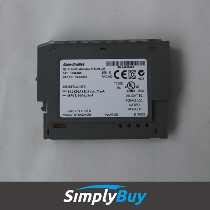 Allen Bradley Point I O 1734 IB8S allen bradley point i o 1734 ib8s 8 channel safety sinking input 1734 ib8s wiring diagram at crackthecode.co