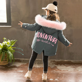 baby warm winter padding jacket little girls warm coat
