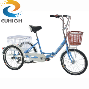 Light bicycle 3 wheel tricycle