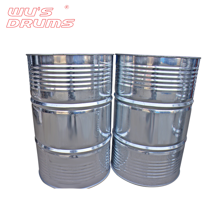 China Custom Chemical Shipping Empty Engine Oil Barrels For Sale