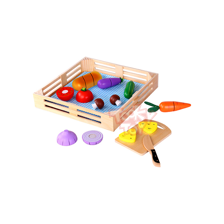 Children toys new styled Cutting vegetables Wooden Toy