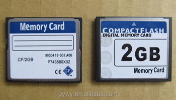 High Speed 2gb Cf Card Compact Flash Memory