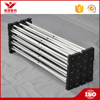 Metal material best prices for pop up exhibition stands and trade show display pop up stands