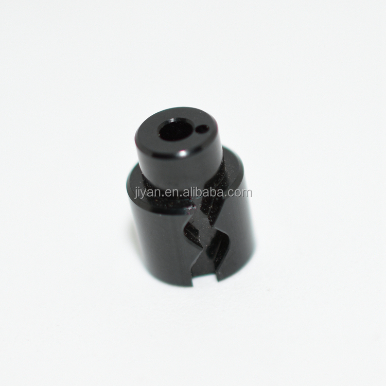 Black/red/bule/green different color cnc machined anodized aluminum parts used for Aviation precision plug components