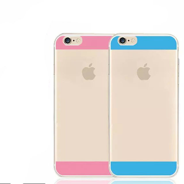 2015 Newest Fashion 0.3mm Ultrathin Transparent Soft TPU Phone Protective Case For iPhone 6 6plus 4.7inch 5.5inc