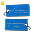 custom hotel key tags key chain with barcode or qr code